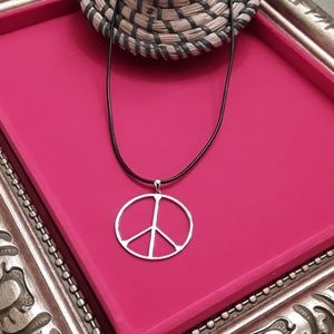 Jewelry - NEW Large S925  PEACE Pendant